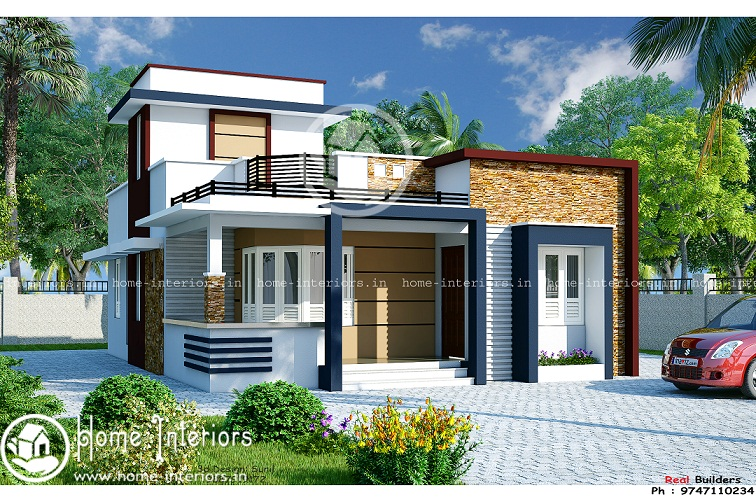 1100 sq ft single floor contemporary home designs for 1100 sq ft home plans
