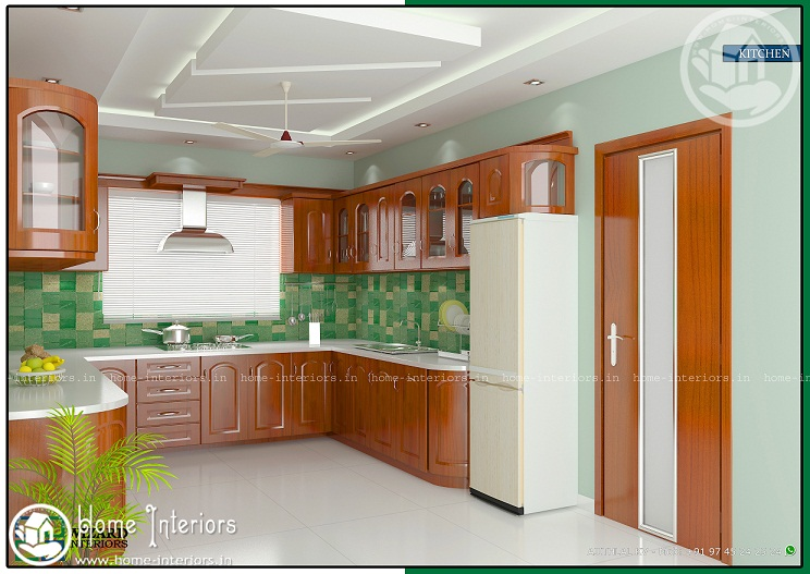 Home interior design kitchen kerala for Kitchen design kerala