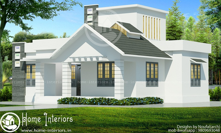 850 sq ft contemporary single floor home design 850 sq ft