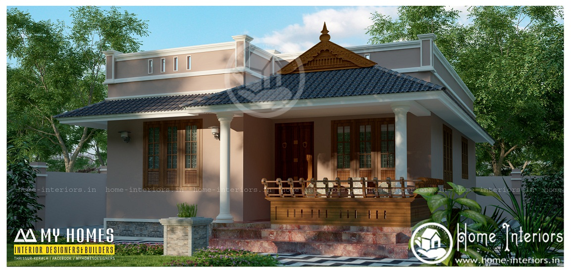 Kerala Home Design 900 Sq Feet Part - 16: 900 Sq Ft Contemporary Single Floor Home Design