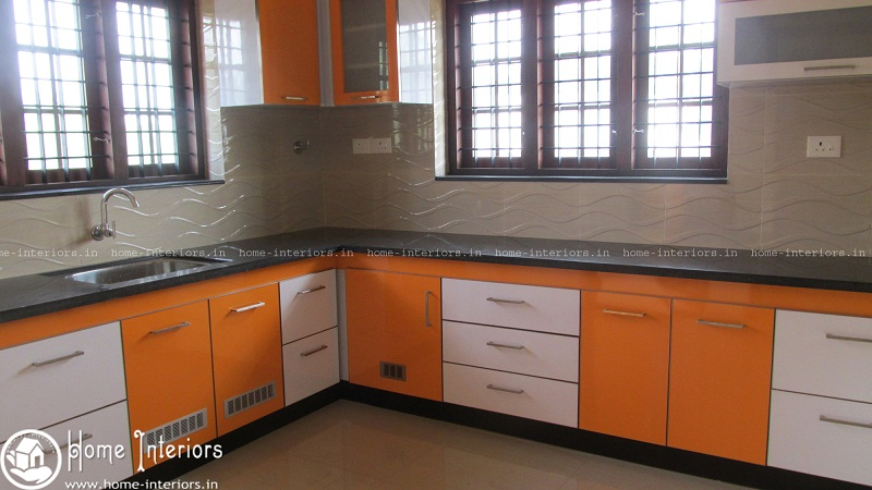 Highly advanced contemporary kitchen interior designs for Modern kitchen designs in kerala