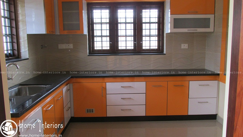 Highly advanced contemporary kitchen interior designs for Kitchen design kerala