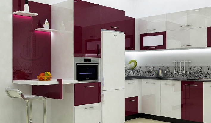 Fascinating contemporary budget home kitchen fascinating Modern kitchen design budget