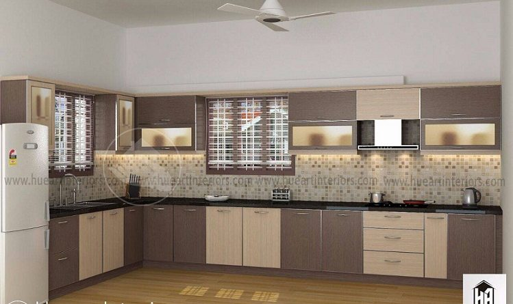 Amazing contemporary home modular kitchen interior designs for Kitchen design kerala