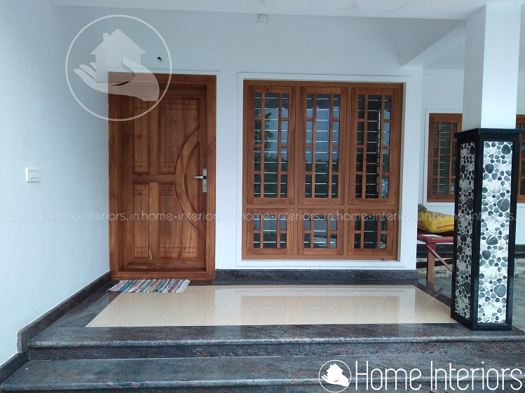 1400 Square Feet Single Floor 2 Bhk Traditional Home Design