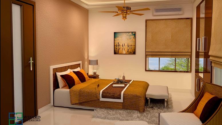 Incredible Bedroom Contemporary Budget Home Interior Design - photo#5
