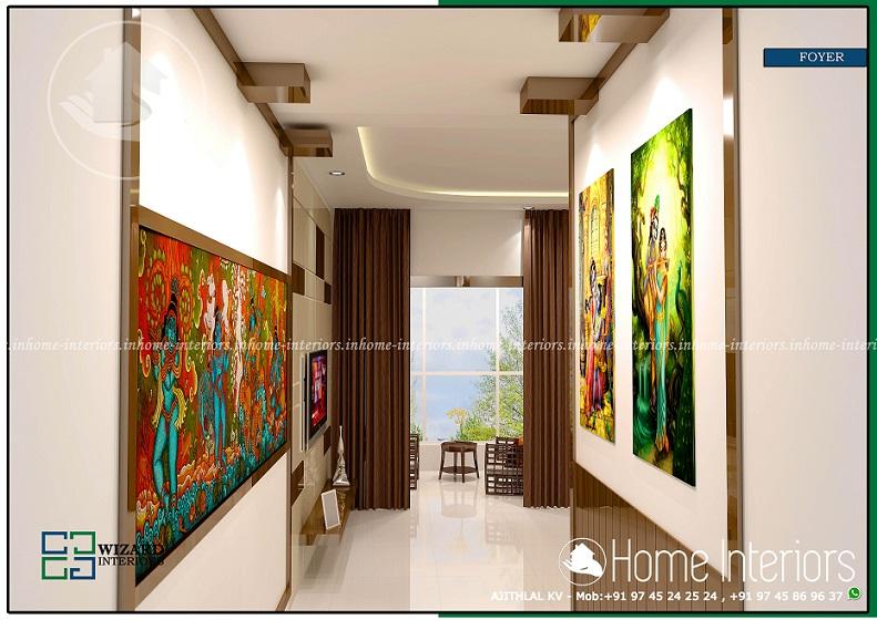 Kerala Home Foyer : Incredible living room contemporary home interior design