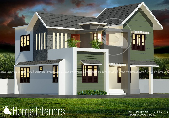 Home Design 1700 Square Feet Part - 30: 1700 Square Feet 4 BHK Contemporary Renovation Home Design