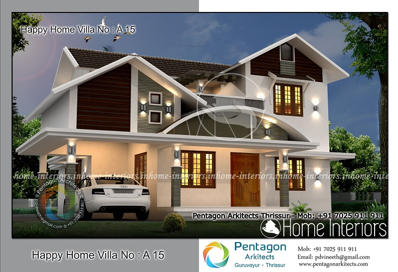 1620 sq ft white contemporary 3 bhk home design for 4 bhk villa interior design