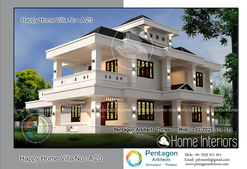 5 Bhk Home Design