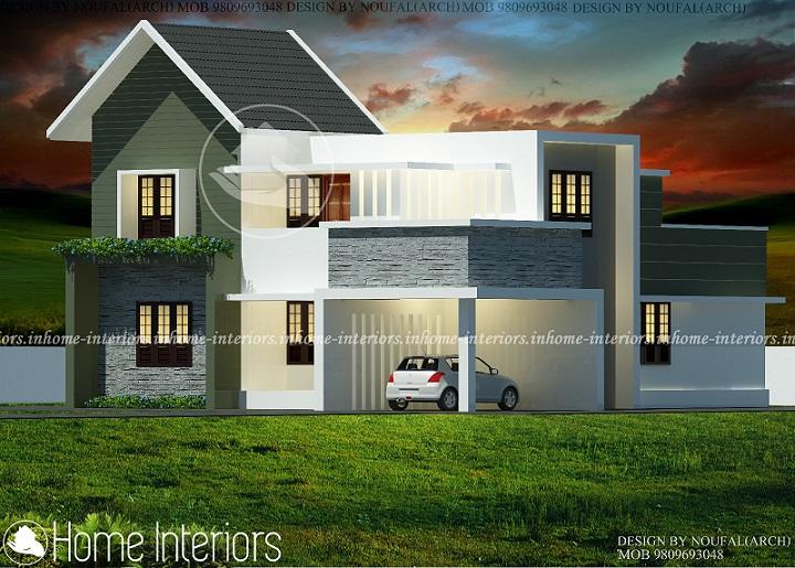 1800 square feet 4 bhk contemporary budget home design for 4 bhk home design