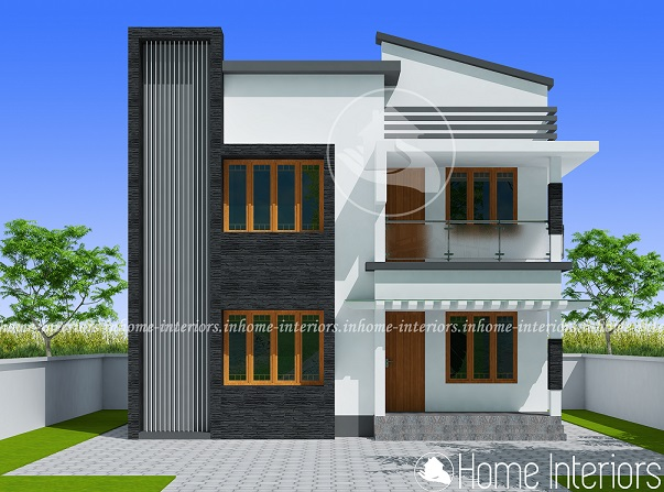 1121 Square Feet Double Floor Contemporary Home Design