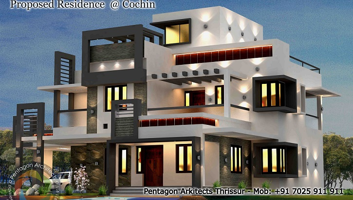 2505 Square Feet Excellent And Amazing Kerala Home Designs Facebook