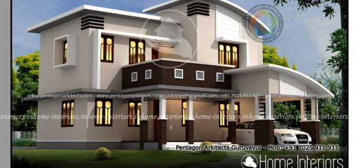 Home Design Kerala Flat Roof Home Design 167 Sq Meters New Home