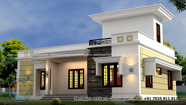 1409 Square Feet Excellent And Amazing Kerala Home Designs Facebook