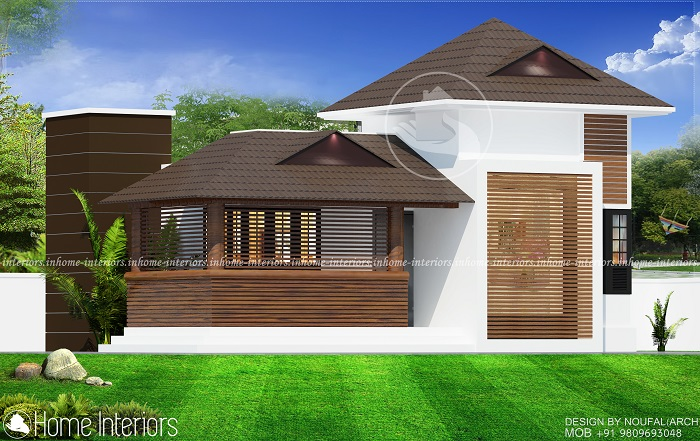 750 Square Feet Single Floor Traditional Home Design