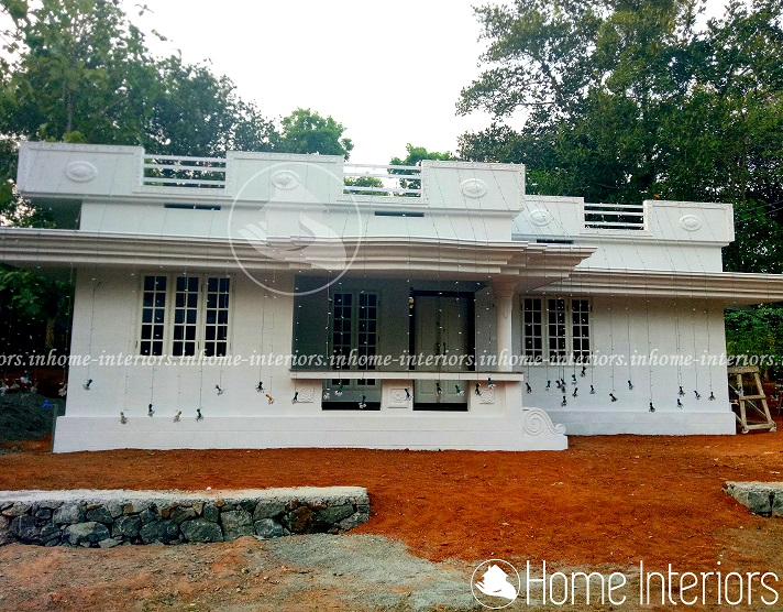 800 square feet single floor 3 bhk contemporary home design 800 sq ft house plans kerala style
