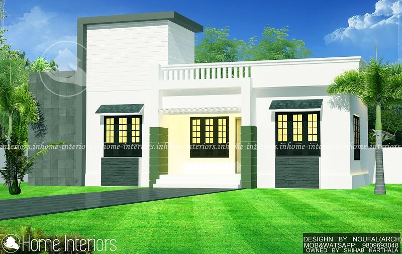 1000 square feet single floor renovation home design for Kerala house 1000 square feet