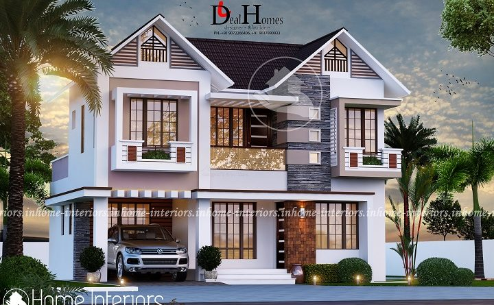1518 Square Feet Double Floor Contemporary Home Design IDEAL HOMES Archives  Interiors