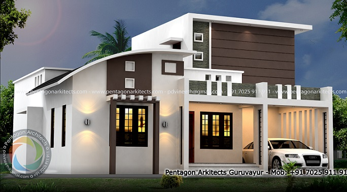1595 Square Feet Excellent And Amazing Kerala Home Designs Facebook