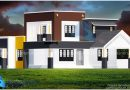 1950 Square Feet Double Floor Contemporary Home Design