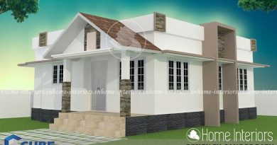 775 Square Feet Single Floor Low Budget Home Design