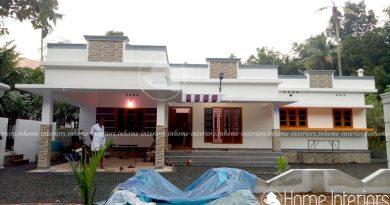 home interior design kerala. 1600 Square Feet Single Floor 3 BHK Modern Home Design Interiors  Kerala Designs House Plans Interior