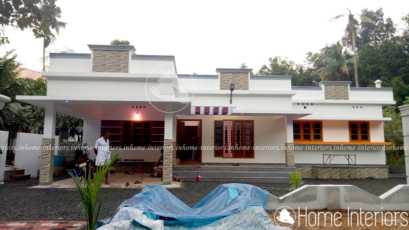 1600 Square Feet Single Floor 3 BHK Modern Home Design