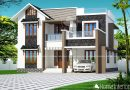 2170 Square Feet Double Floor Contemporary Home Design