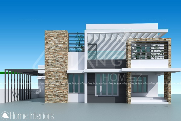 2500 Square Feet 3 BHK Contemporary Renovated Home Design