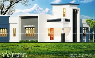 1300 Square Feet Single Floor Contemporary Home Designs