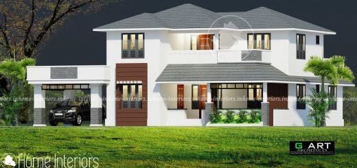 2500 Square Feet Double Floor Renovation Home Design