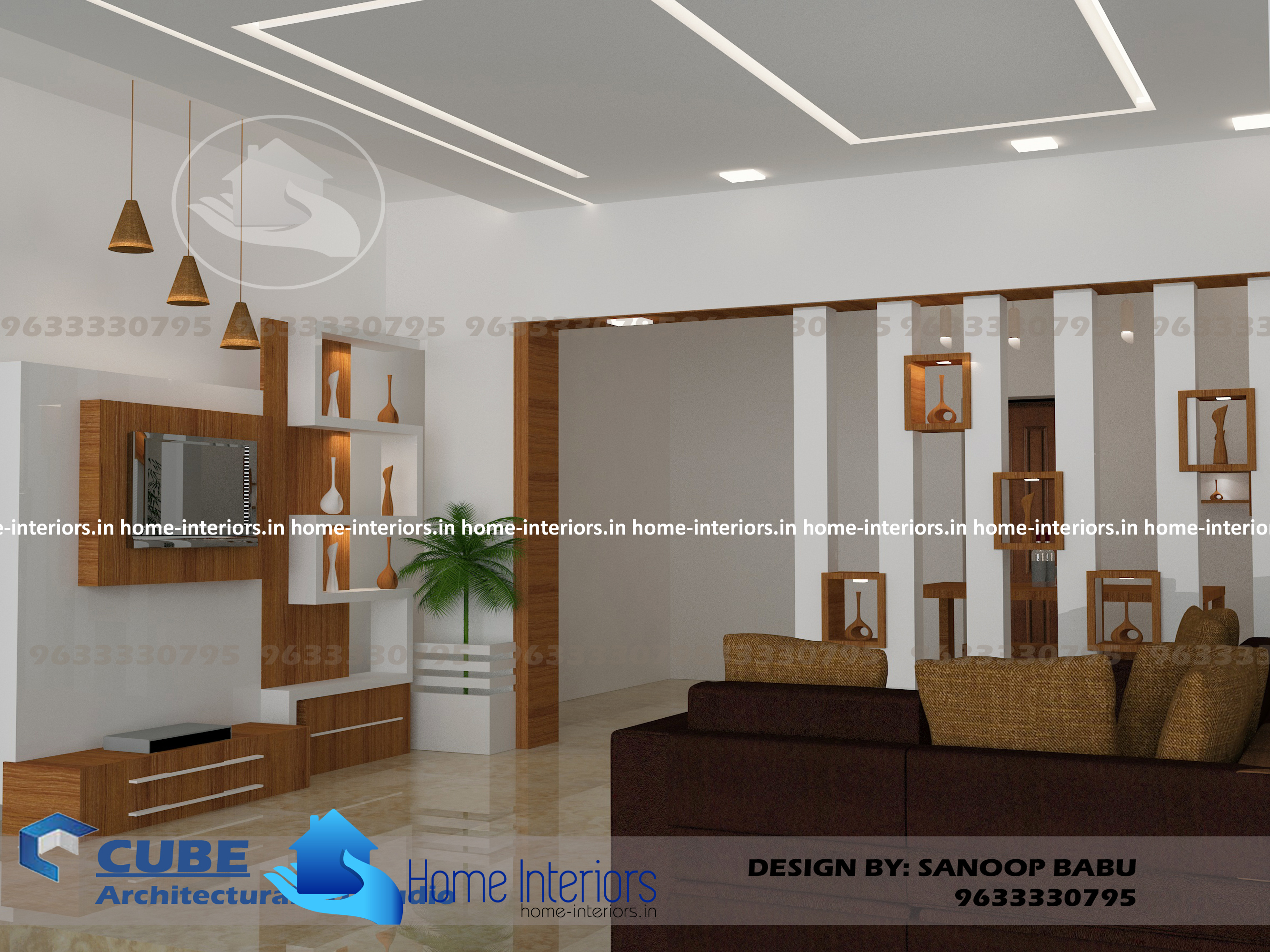 Low Space Sitting Room And Kitchen Design Low Cost