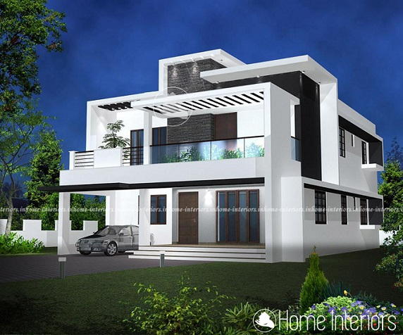 Top 7 Contemporary Style Duplex Kerala Home Designs