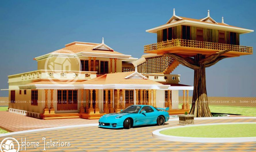 "3800 SQ.FT, Wisdom Home Designs ""Where Dreams & Reality Merge"""