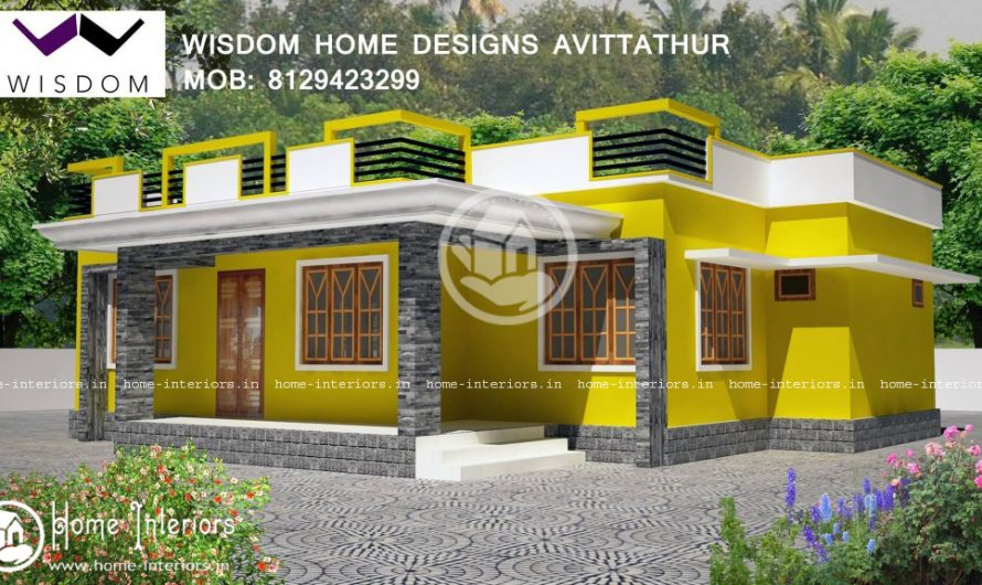 1000 Sq ft, Lowcost & Beautiful Home Design