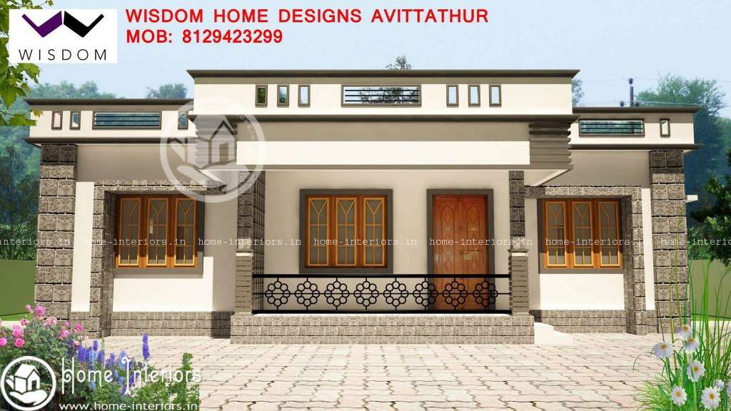 1300 sq ft beautiful home design 2015 for Home design images