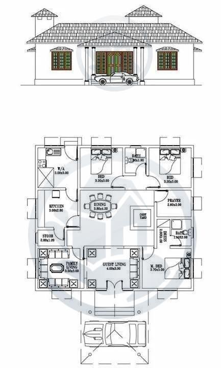 1650 Square Feet Amazing And Beautiful Kerala Home Designs plan