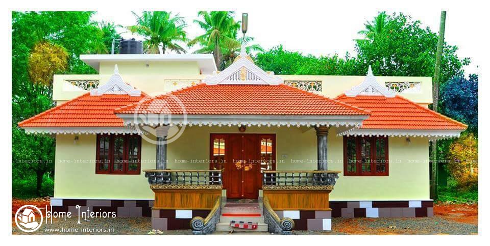 New Kerala style Home Design with Plan