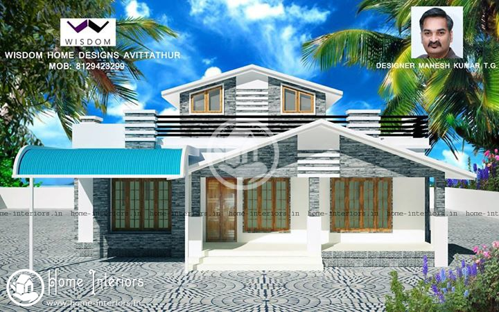1700 SQ FT, Kerala Home Design