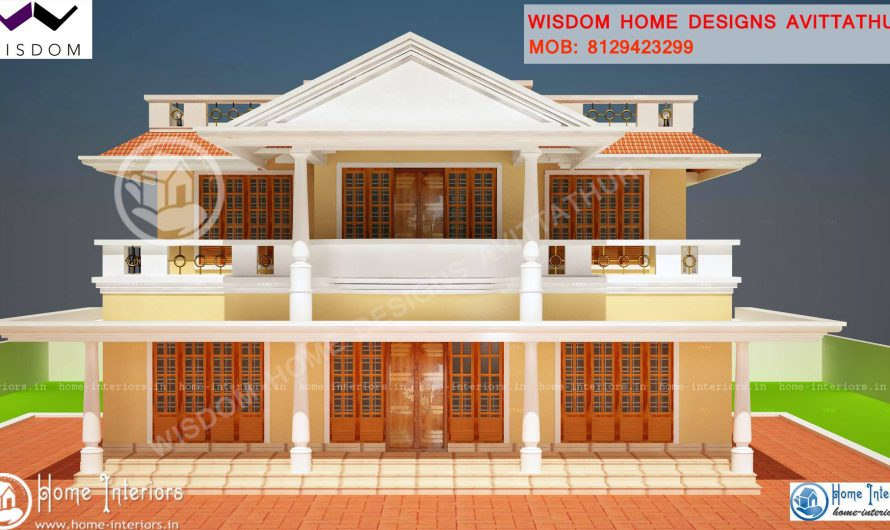1900 Sq. Ft , Slop roof Style Kerala Home Design