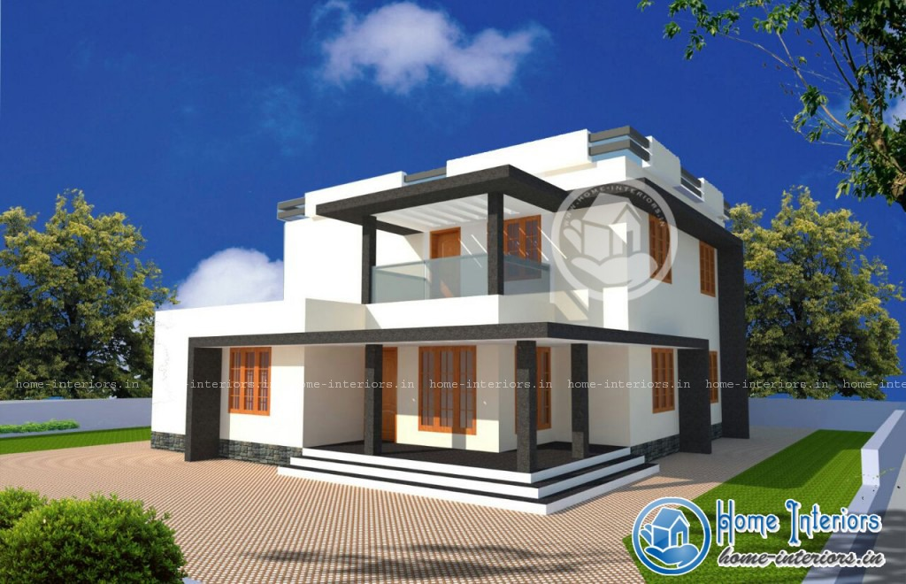 Kerala 2015 model home design for Latest kerala style home designs