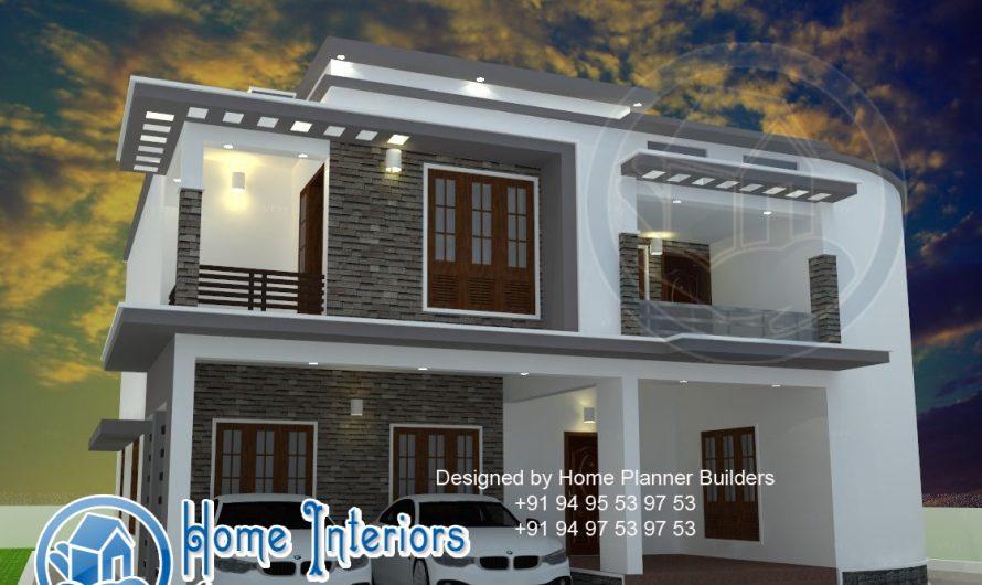 Kerala Modern Style Home with Mini theater 2015