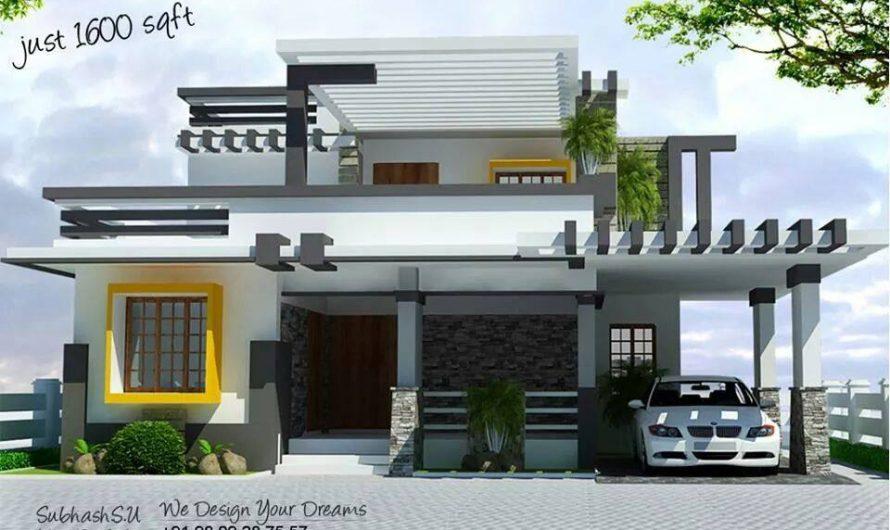 Modern Concept Home Design, 1600 sq ft