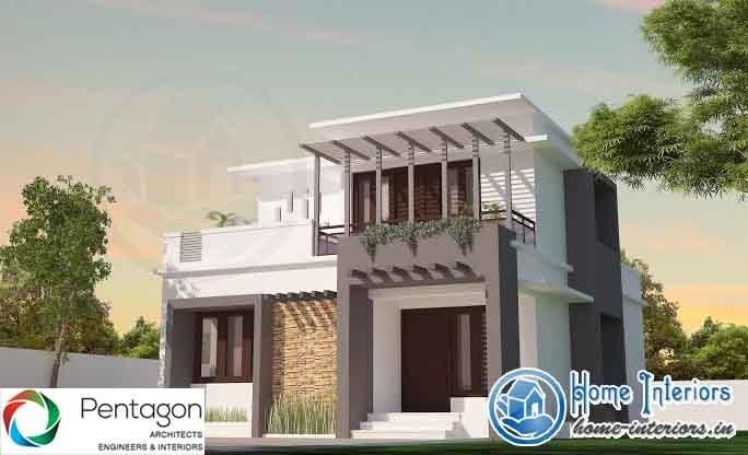 1550 Sq Ft, Modern Style Kerala Home Design