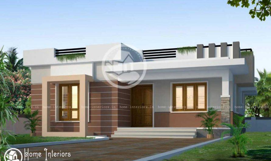 850 sqft 2bhk Modern Style house 2015