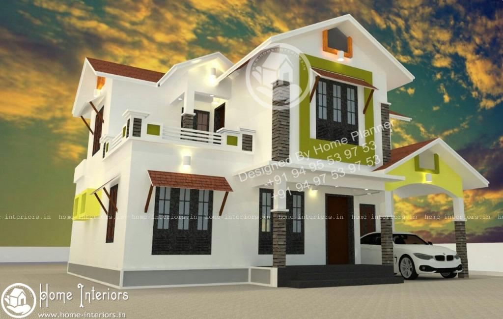 2015 Square Feet Amazing And Beautiful Kerala Home Designs