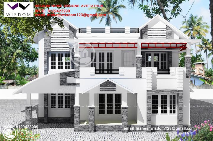 1948 sq ft, Beautiful Double Floor Home Design