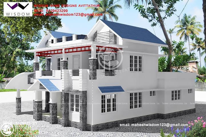 1948 Square Feet Amazing And Beautiful Kerala Home Designsz