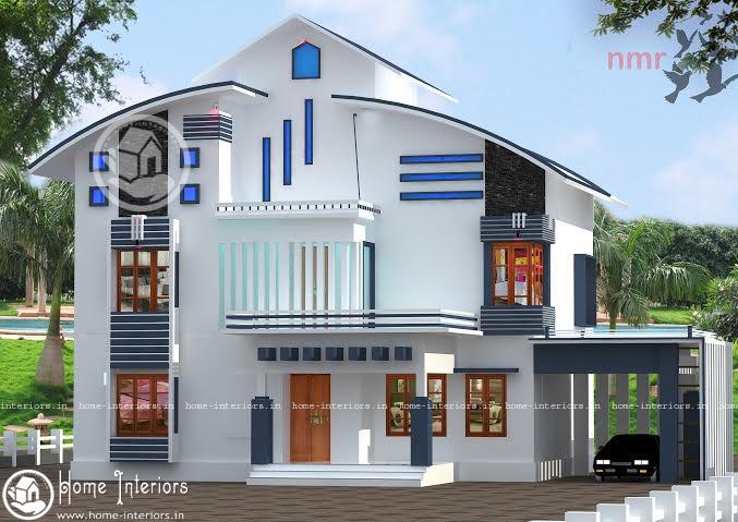 2150 sq ft, 5BHK, Double Floor Home Plan